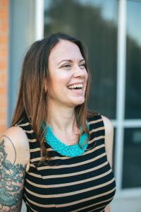 Beth LaGrone discusses her morning rituals in A Beautiful Morning by Ashley Ellington Brown