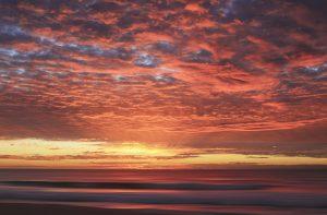 A beautiful morning sunrise