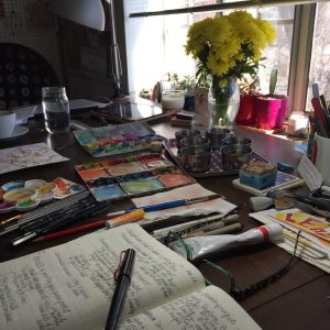 morning routine creativity morning ritual art
